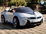Bmw i8 elektrische accuvoertuig blauw