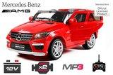 Mercedes ML63 op afstandsbediening