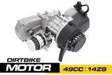 Nitro Motors 49cc Dirtbike Motorblok (14ZS)_