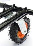 Hoverkart voor hoverboard met schokdempers en grote wiel