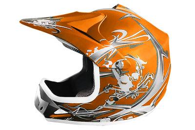 Xtreme Crosshelm - MAT Oranje