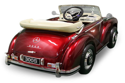 Mercedes 300S LICENTIE - Rood
