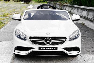 Mercedes S63 AMG - Licentie (wit)
