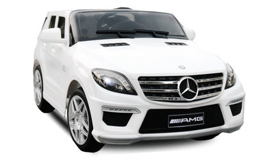 Mercedes ML63 AMG - Wit