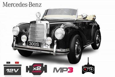 Mercedes 300S LICENTIE - Zwart
