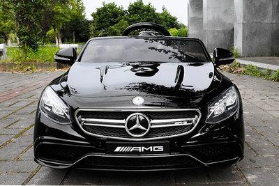 Mercedes S63 AMG - Licentie (zwart)