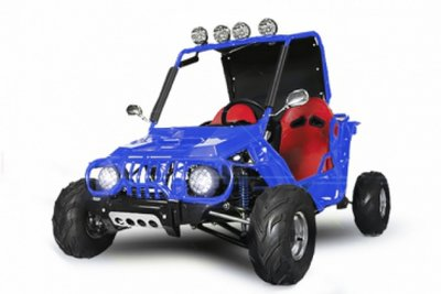 Midi Buggy | E-start | 125cc | Semi-aut