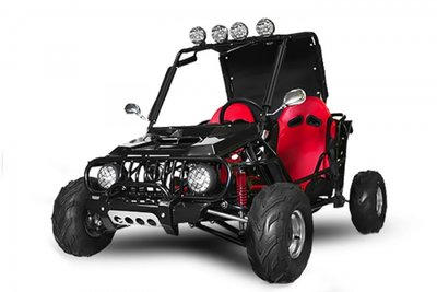 Midi Buggy | E-start | 125cc | Automaat