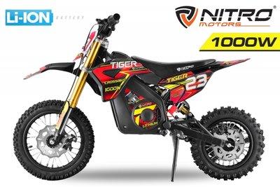 ECO Tiger 1000W | 36V 10Ah Lithium accu