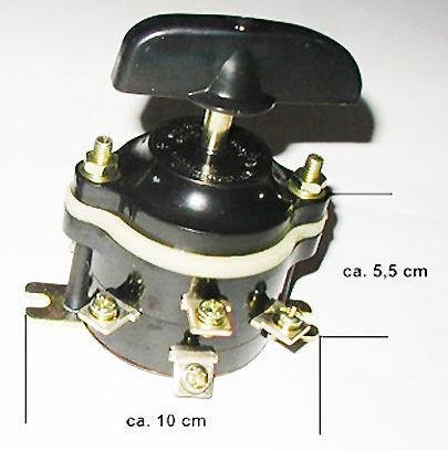 Keuzeschakelaar MIDI ATV