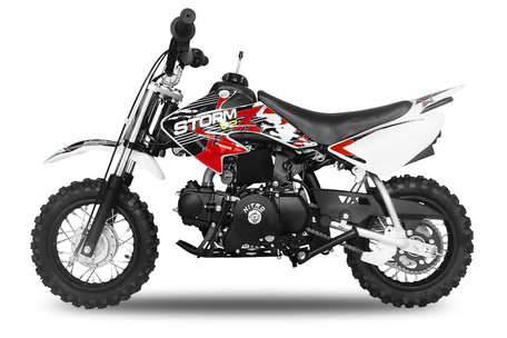 Storm Dirtbike V2 | E-start | Automaat | 90cc