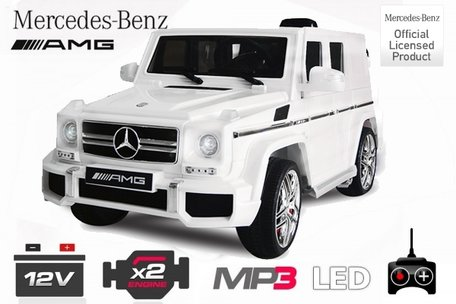 Mercedes G63 AMG kinderauto - Licentie