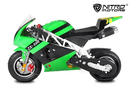 Pocketbike / minibike PS50 Rocket Deluxe Tuning