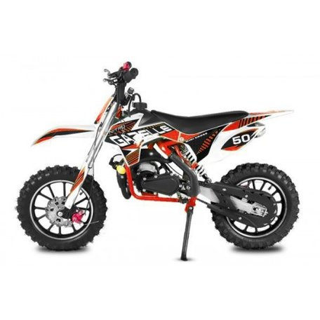 Gazelle Dirtbike Tuning | E-Start | Automaat | 49cc