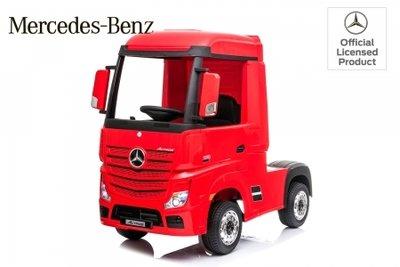 Mercedes Actross 12V 4WD kinderauto truck vrwachtwagen