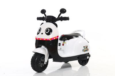 Panda vespascooter kinderen accu
