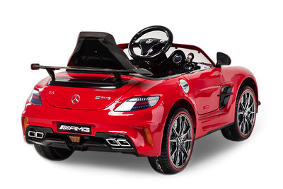 Mercedes SLS AMG back
