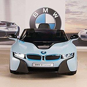 bmw i8 kinderauto blauw electric car