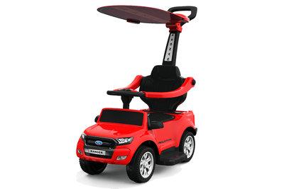 Mini FGord Ranger loopauto accu duwstang zonnekap wering