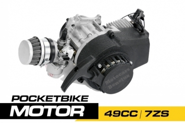 Nitro Motors 49cc Pocketbike Motorblok (7ZS)